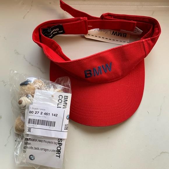 BMW visor & bear key ring